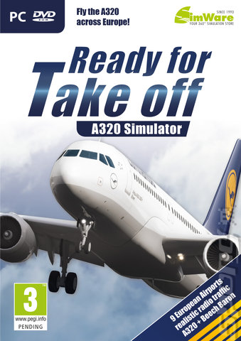Ready for Take Off: A320 Simulator - PC Cover & Box Art