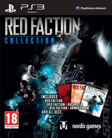 Red Faction Collection - PS3 Cover & Box Art