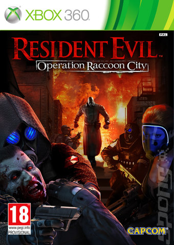 Resident Evil: Operation Raccoon City - Xbox 360 Cover & Box Art