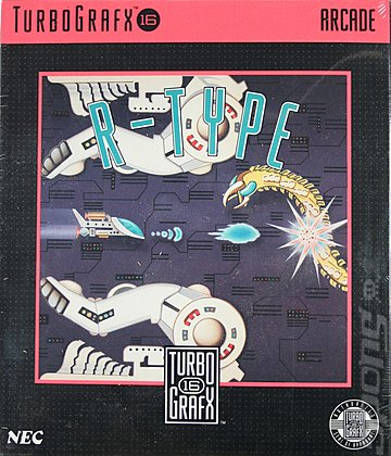R-Type - NEC PC Engine Cover & Box Art