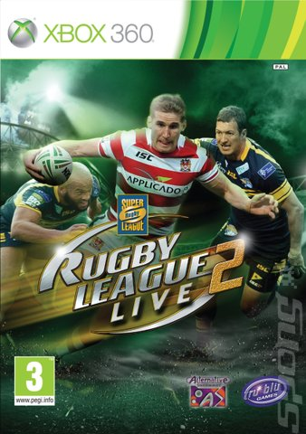 Rugby League Live 2 - Xbox 360 Cover & Box Art