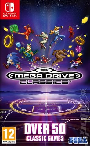 SEGA Mega Drive Classics - Switch Editorial image