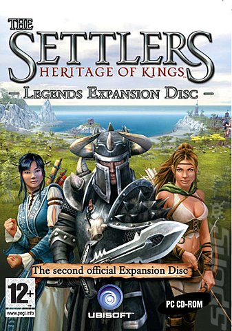 Settlers: Heritage of Kings - Legends Expansion Pack - PC Cover & Box Art