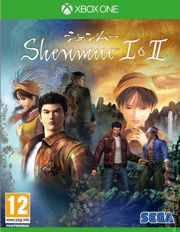 Shenmue I & II - Xbox One Cover & Box Art