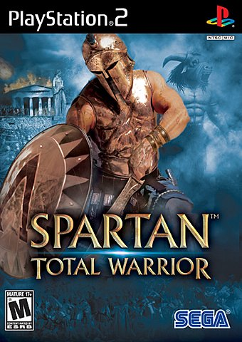 Spartan: Total Warrior - PS2 Cover & Box Art