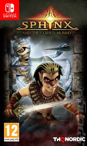 Sphinx and the Cursed Mummy - Switch Cover & Box Art