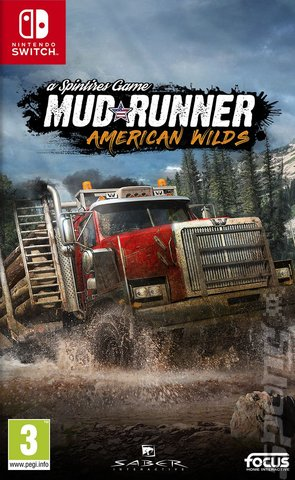 Spintires: MudRunner: American Wilds Edition - Switch Cover & Box Art
