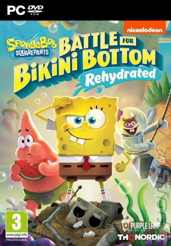 SpongeBob SquarePants: Battle for Bikini Bottom: Rehydrated - PC Cover & Box Art