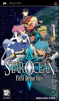 Star Ocean: First Departure - PSP Cover & Box Art