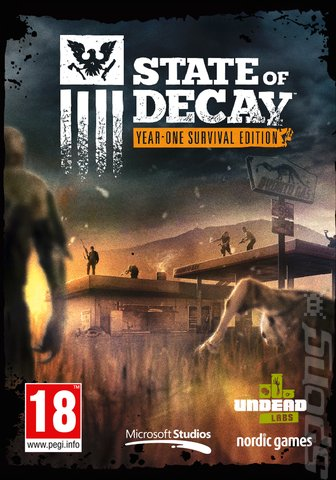 State of Decay - PC Cover & Box Art