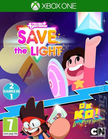 Steven Universe: Save The Light & OK K.O.! Let's Play Heroes - Xbox One Cover & Box Art