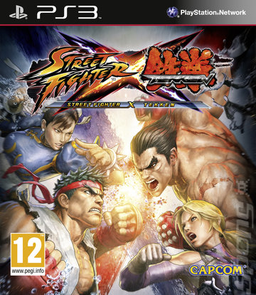 Street Fighter X Tekken - PS3 Cover & Box Art