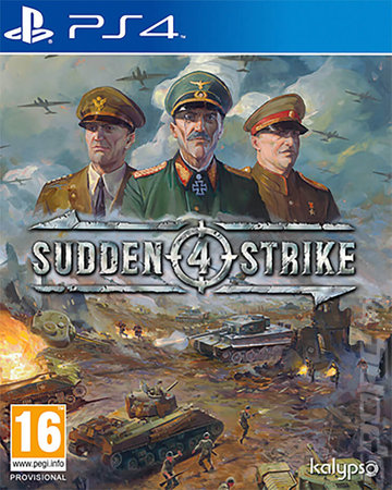 Sudden Strike 4 - PS4 Cover & Box Art
