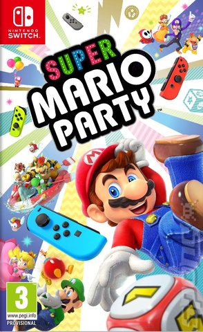 Super Mario Party - Switch Cover & Box Art