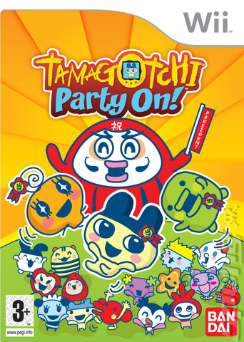 Tamagotchi Party On! - Wii Cover & Box Art