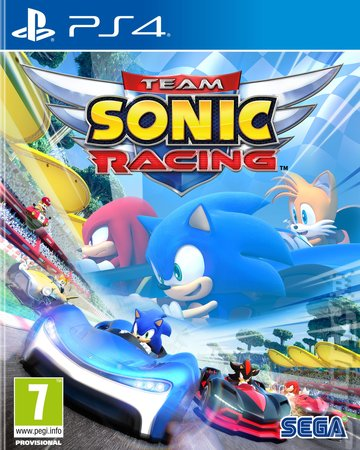 Team Sonic Racing - PS4 Cover & Box Art