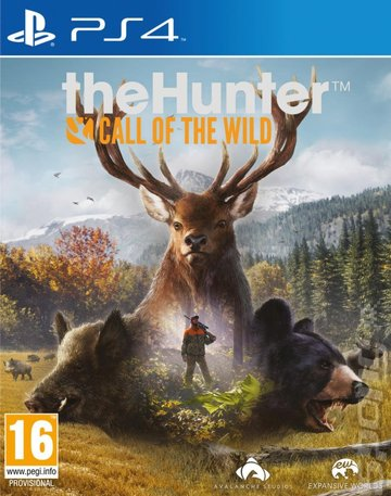 theHunter: Call of the Wild - PS4 Cover & Box Art