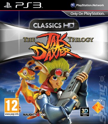 The Jak and Daxter Trilogy - PS3 Cover & Box Art