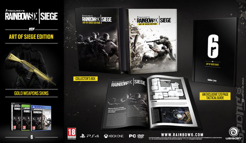Tom Clancy?s Rainbow Six: Siege - PS4 Cover & Box Art