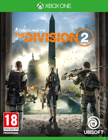 Tom Clancy's The Division 2 - Xbox One Cover & Box Art