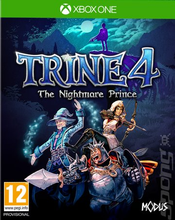 Trine 4: The Nightmare Prince - Xbox One Cover & Box Art