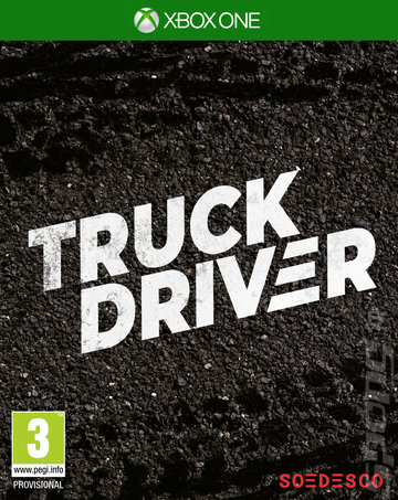 Truck Driver - Xbox One Cover & Box Art
