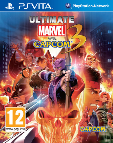 Ultimate Marvel vs. Capcom 3 - PSVita Cover & Box Art