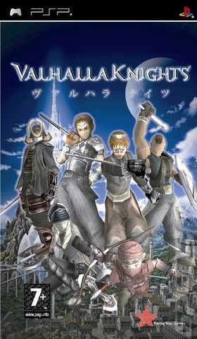 Valhalla Knights - PSP Cover & Box Art