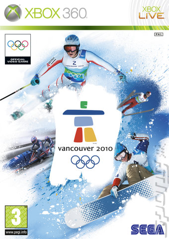 Vancouver 2010: The Official Video Game of the Olympic Winter Games - Xbox 360 Cover & Box Art