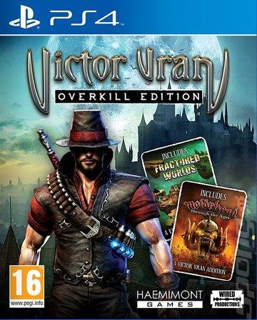 Victor Vran: Overkill Edition - PS4 Cover & Box Art