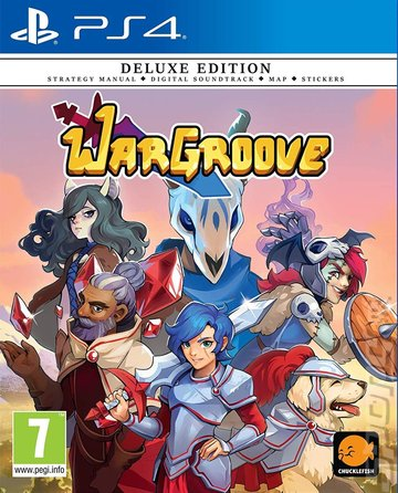 Wargroove - PS4 Cover & Box Art
