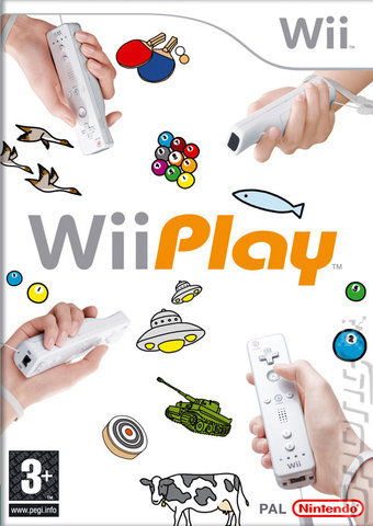 Day Two in the Wii House: Wii Play Editorial image