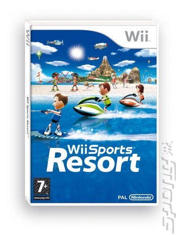 Wii Sports Resort - Wii Cover & Box Art