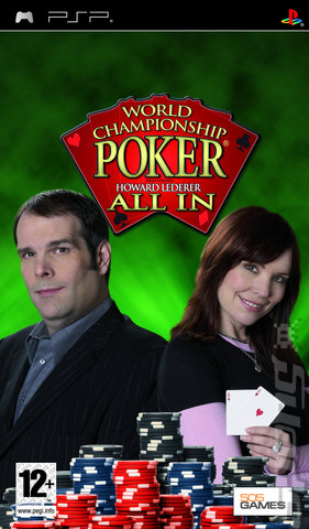 Resultado de imagen para World Championship Poker All In PSP COVER