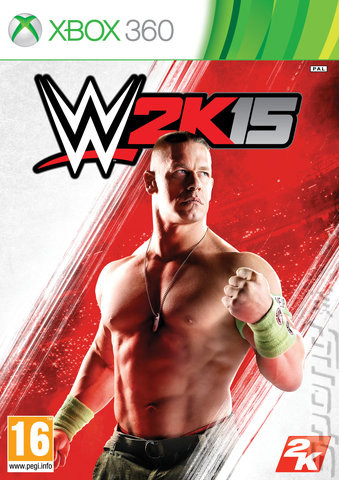 WWE 2K15 - Xbox 360 Cover & Box Art