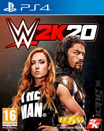 WWE 2K20 - PS4 Cover & Box Art