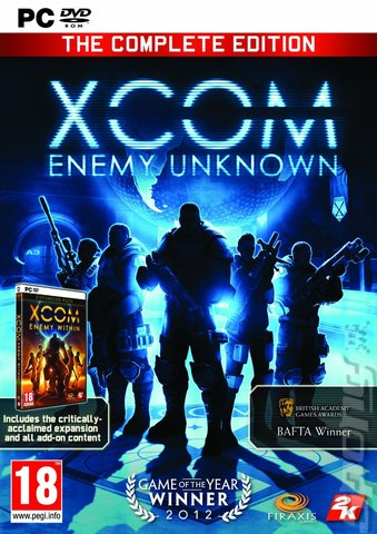 XCOM: Enemy Unknown: The Complete Edition - PC Cover & Box Art