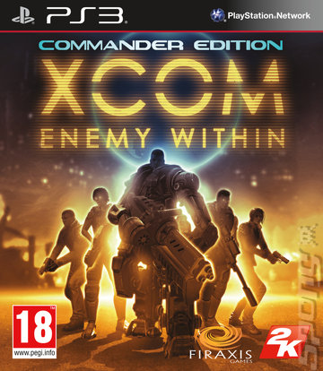 XCOM: Enemy Within: Commander Edition - PS3 Cover & Box Art