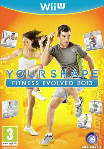 Your Shape: Fitness Evolved 2013 - Wii U Cover & Box Art