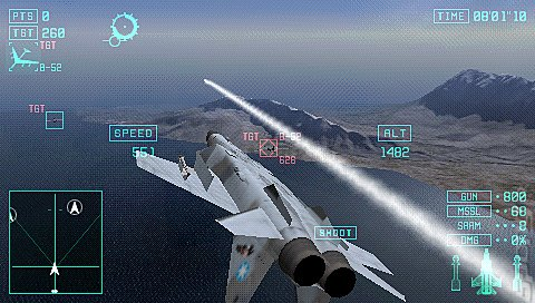 Ace Combat X: Skies of Deception (PSP) Editorial image
