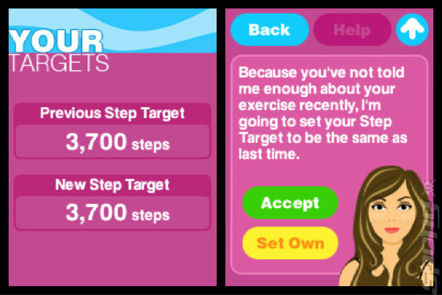 Active Health With Carol Vorderman - DS/DSi Screen
