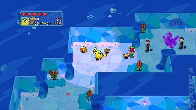 Adventure Time: Explore the Dungeon Because I DON'T KNOW! - 3DS/2DS Screen