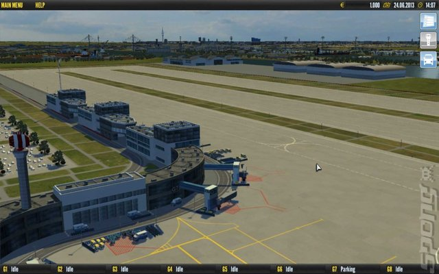 Airport Simulator 2014 - PC Screen