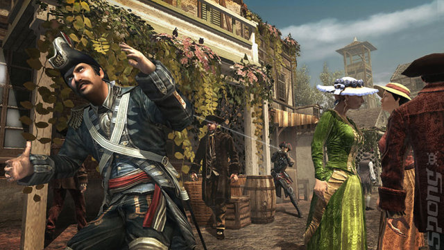 Assassin's Creed III: Liberation Editorial image