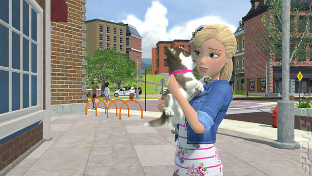 Barbie and Her Sisters: Puppy Rescue - Wii Screen