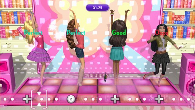 Screens Barbie Dreamhouse Party Wii U 6 Of 8
