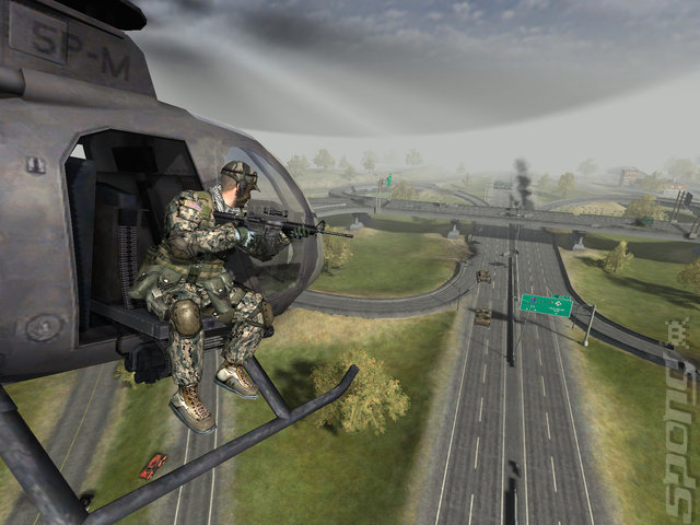 Battlefield 2: Armored Fury Booster Pack - PC Screen