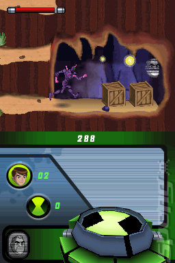 Ben 10: Alien Force - DS/DSi Screen