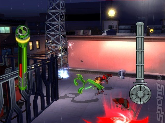Ben 10 Alien Force: Vilgax Attacks - Wii Screen