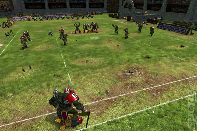 Blood Bowl  - PC Screen